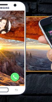 Video Screen For Incoming Calls screenshot 2
