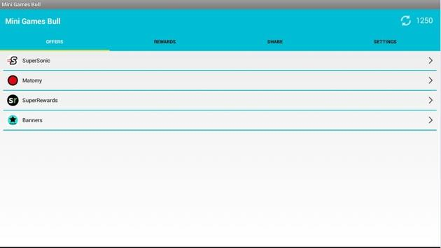Minigamesbull screenshot 1