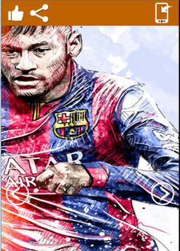 Neymar Jr Wallpaper HD apk screenshot