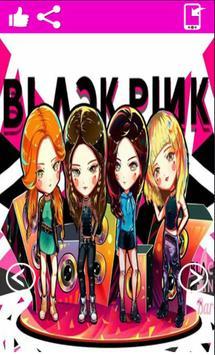 Black Pink Girl Band Wallpapers HD apk screenshot