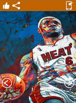 Lebron James Wallpaper HD apk screenshot