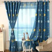 minimalist curtain design icon