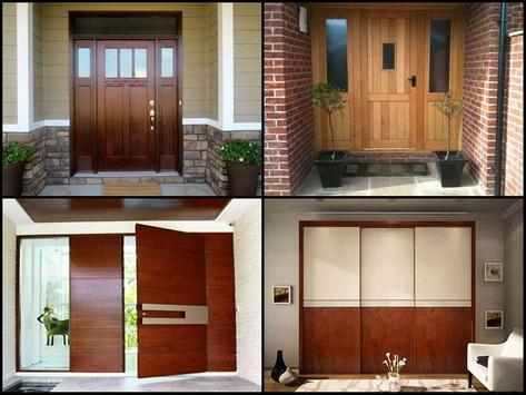 Minimalist Door Design Ideas screenshot 1