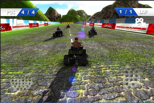 Moto Racing - ATV 2nd screenshot 3