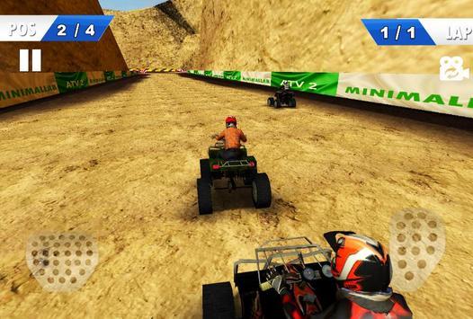 Moto Racing - ATV 2nd screenshot 1