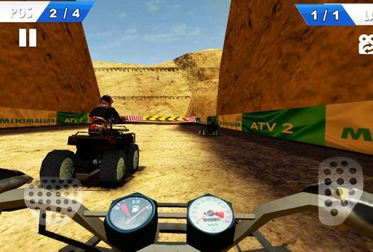 Moto Racing - ATV 2nd screenshot 4