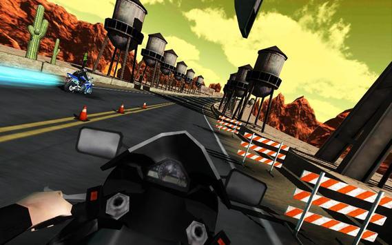 Motorcycle Driving Racing poster