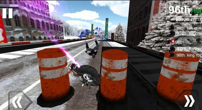 Fast Moto Racing - Driving 3D screenshot 14