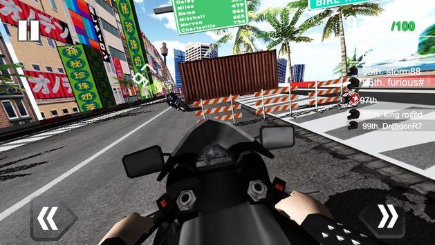 Moto Racing Simulator screenshot 1