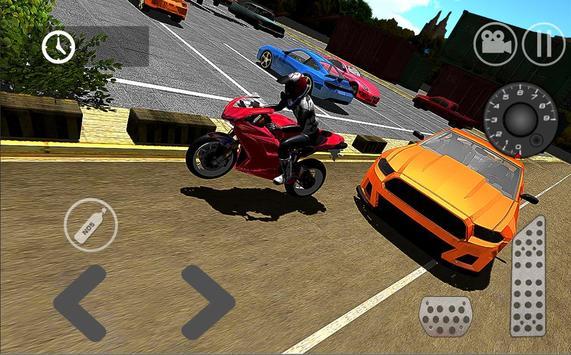 Moto Parking Simulator HD poster