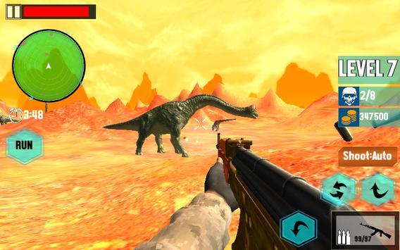 Ultimate Dino : Jurassic World FPS Shooting War 3D screenshot 11