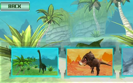 Ultimate Dino : Jurassic World FPS Shooting War 3D screenshot 2