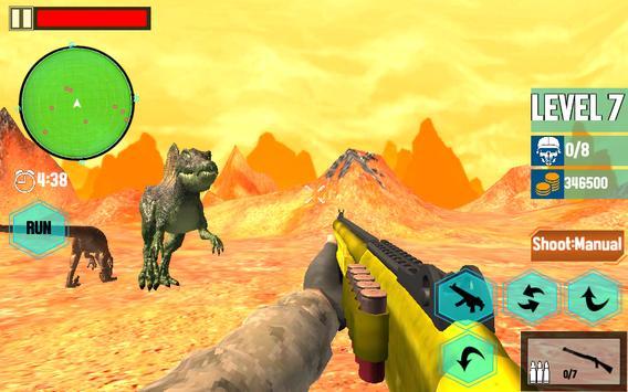 Ultimate Dino : Jurassic World FPS Shooting War 3D screenshot 7