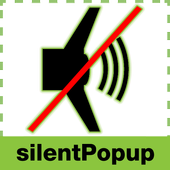 Silent Mode Popup icon
