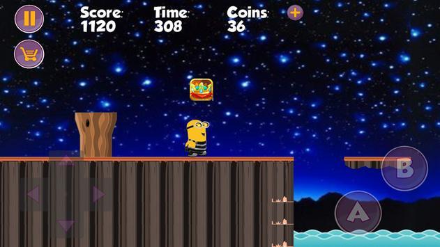 Minion amazing adventure game apk screenshot