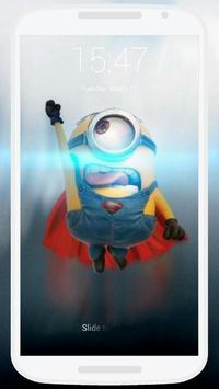 Minions Lock Screen poster