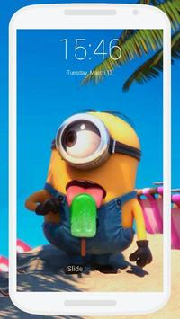 Minions Lock Screen screenshot 1