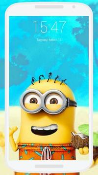 Minions Lock Screen screenshot 2