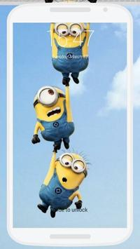 Minions Lock Screen screenshot 5