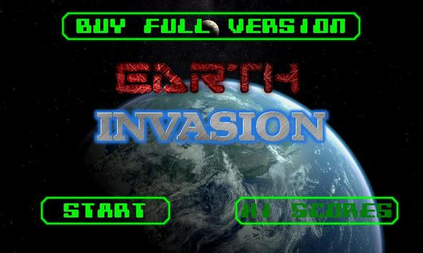 Earth Invasion - Free poster