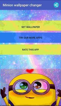 Minion wallpaper changer poster