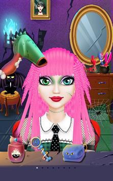 Messy Monster Hair Salon apk screenshot