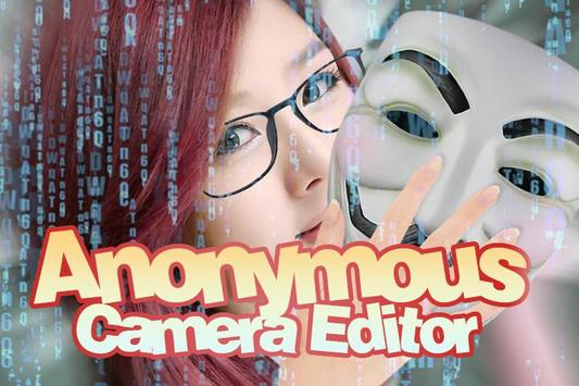 Anonymous Camera Editor screenshot 1