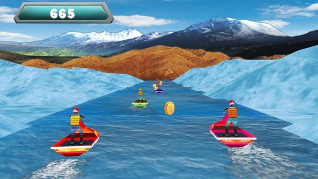Boat Racing Challenge 3D screenshot 1