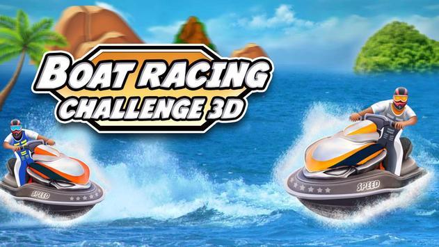 Boat Racing Challenge 3D screenshot 2