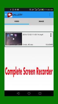 Mini Screen Recorder NO ROOT screenshot 1