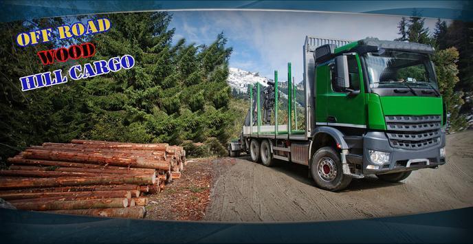Off Road Wood Hill Cargo Truck apk screenshot