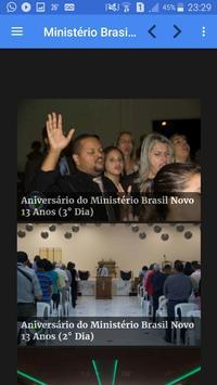 Ministério Brasil Novo screenshot 4