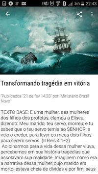 Ministério Brasil Novo screenshot 5