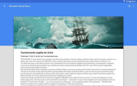Ministério Brasil Novo screenshot 9