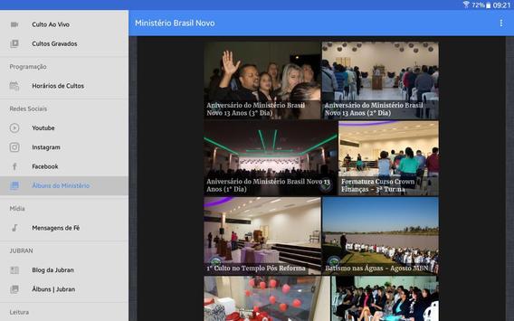 Ministério Brasil Novo screenshot 13