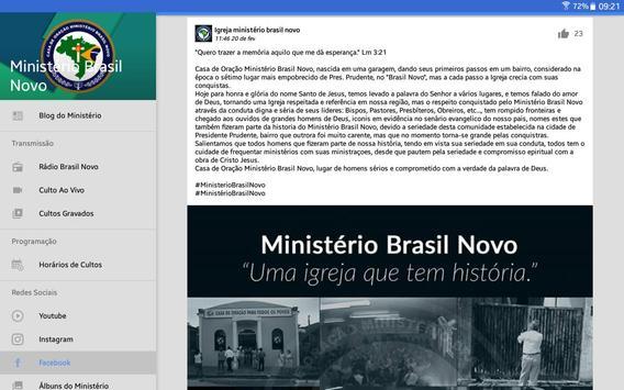 Ministério Brasil Novo screenshot 12