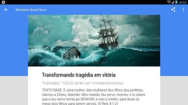 Ministério Brasil Novo screenshot 17