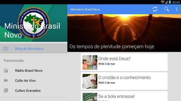 Ministério Brasil Novo screenshot 15