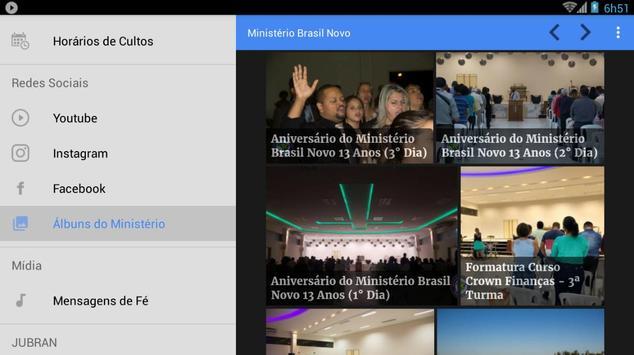 Ministério Brasil Novo screenshot 19