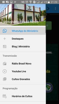 Ministério Brasil Novo screenshot 1