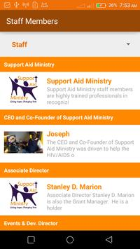 Support Aid Ministry apk screenshot