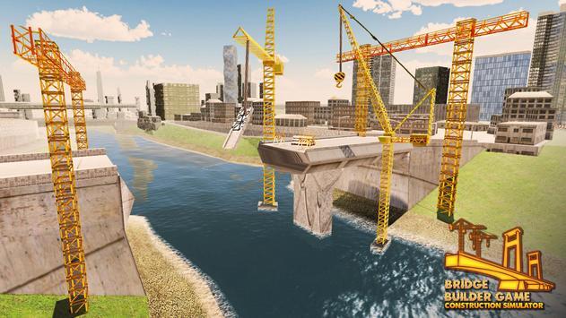 橋 生成器 -  施工 模擬器 3D 截圖 5