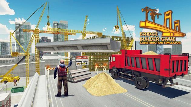 橋 生成器 -  施工 模擬器 3D 海報