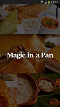 Magic in a pan poster