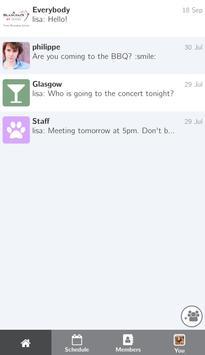 Blancpain GT Series Messaging apk screenshot