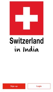 Switzerland in India poster