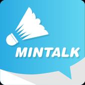 민톡 - 배드민턴 모바일 메신저 icon