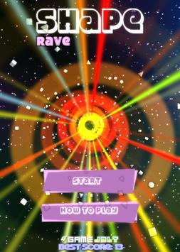 Shape Rave poster