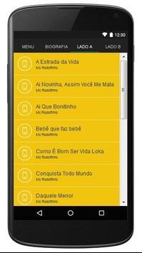 Mc Rodolfinho Letras apk screenshot