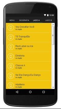 Mc Sapão Letras apk screenshot